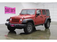 2015 Jeep Wrangler Rubicon Unlimited 4X4 3.6 Liter