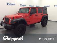 ONLY 10 Miles! REDUCED FROM $38,999! Rubicon trim.