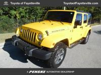 CARFAX 1-Owner, Very Nice, GREAT MILES 25,945! Rubicon