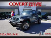 Drive home today in this 2015 Jeep Wrangler Unlimited