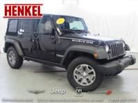 Options:  2015 Jeep Wrangler Unlimited Rubicon