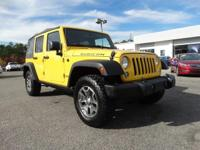 This Jeep Wrangler Unlimited has a powerful Regular
