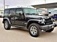 We are excited to offer this 2015 Jeep Wrangler