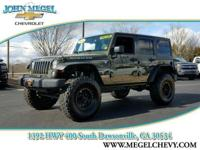 RUBICON WRANGLER UNLIMITED, 4X4, FACTORY HARD TOP,