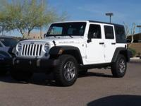Clean CARFAX. 2015 Jeep Wrangler Unlimited Rubicon 3.6L