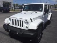 This 2015 Jeep Wrangler Unlimited Rubicon is proudly