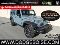Delivers 21 Highway MPG and 16 City MPG! This Jeep