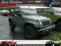 Take command of the road in the 2015 Jeep Wrangler!