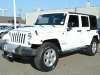 This 2015 Jeep Wrangler Unlimited Sahara is offered to