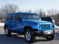 Treat yourself to this 2015 Jeep Wrangler Unlimited