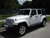 Options:  2015 Jeep Wrangler Unlimited Sahara|Come And