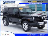 Options:  2015 Jeep Wrangler Unlimited Sahara|4X4