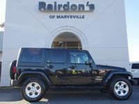 2015 Jeep Wrangler Unlimited Sahara 4x4 4WD Hard Top