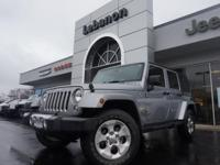 Wrangler Unlimited Sahara, 4WD, and ***ONE OWNER***.
