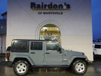 2015 Jeep Wrangler Unlimited Sahara 4x4 4WD 1-Owner