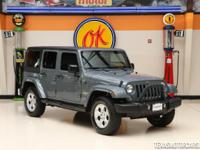 This non-smoker 2015 Jeep Wrangler Unlimited Sahara was