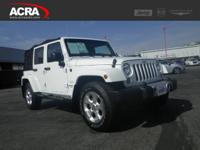 A few of this used Wrangler Unlimited's key features