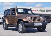 Options:  2015 Jeep Wrangler Unlimited Sahara|Miles: