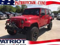Options:  2015 Jeep Wrangler Unlimited Sahara|Wow! What