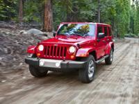 2015 Jeep Wrangler Unlimited Sahara Red 3.6L V6 24V VVT
