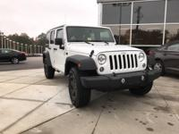 2015 Jeep Wrangler Unlimited Sport 4WD 5-Speed