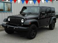 This one owner, 2015 Jeep Wrangler has a