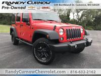 Options:  2015 Jeep Wrangler Unlimited