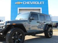 HARDTOP, WINCH, LIFTED!, CUSTOM WHEELS AND TIRES!,