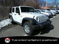 Bright White Clearcoat 2015 Jeep Wrangler Unlimited