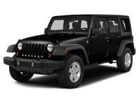 Looking for a clean, well-cared for 2015 Jeep Wrangler