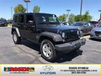 **HARD TO FIND** 2015 Jeep Wrangler Unlimited Sport