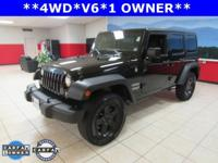 ONE OWNER, Wrangler Unlimited Sport, 4D Sport Utility,