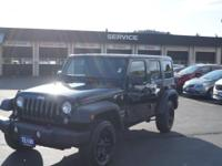 Take command of the road in the 2015 Jeep Wrangler