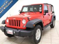 This 2015 Jeep Wrangler is ready for adventure, with