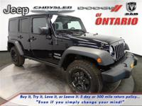Options:  2015 Jeep Wrangler Unlimited Unlimited