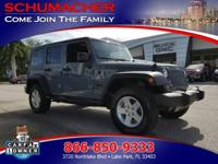Options:  2015 Jeep Wrangler Unlimited Sport C 4X4|