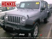 Options:  2015 Jeep Wrangler Unlimited Unlimited Sport