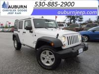 4WD, CRUISE CONTROL, HARD TOP! This great 2015 Jeep