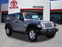 -DON'T MISS THIS OPPORTUNITY- and -4x4-. Wrangler