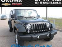 Wrangler Unlimited Sport, Hard Top, 4D Sport Utility,
