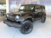 Wrangler Unlimited Sport. CARFAX One-Owner. Clean