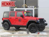 Options:  2015 Jeep Wrangler Unlimited Sport