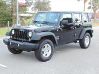 Options:  2015 Jeep Wrangler Unlimited 4Wd 4Dr Sport
