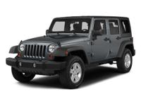 ONE OWNER 2015 JEEP WRANGLER UNLIMITED 4X4 4DR LOW