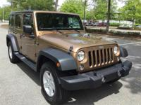 2015 Jeep Wrangler Unlimited Sport Hard Top in Copper