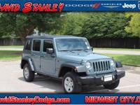 Wrangler Unlimited Sport, Automatic, and 4WD. Your