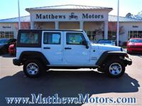 Check out this 2015 Jeep Wrangler Unlimited 4W. Its