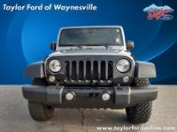 Options:  2015 Jeep Wrangler Unlimited Willys Wheeler