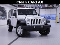 2015 Jeep Wrangler Unlimited Sport White CARFAX