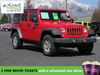 CarFax 1-Owner, This 2015 Jeep Wrangler Unlimited SPOR